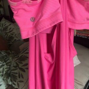 Pink lulu tank size 6!
